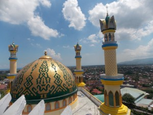Islamic Center NTB dari atas Minaret