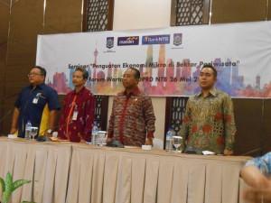 Seminar tentang Ekonomi UMKM di bidang wisata