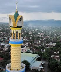 Kota Mataram dilihat dari menara IC