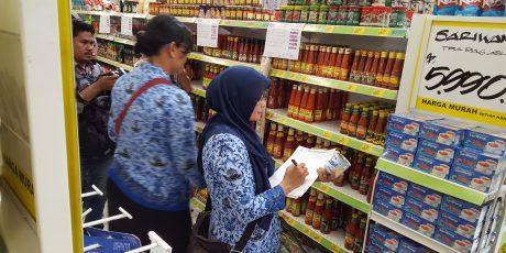 Sidak Pasar Modern, BBPOM Temukan Sejumlah Makanan Tidak Layak Konsumsi