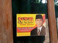 Stiker Untuk NTB 1 Beredar, Ahyar Mengaku tak Tahu