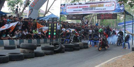 Kejurnas Drag Bike Region III Seri 4 , Pebalap NTB Berhasil Mendominasi Juara
