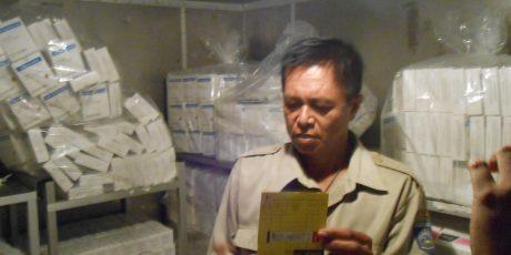 Kasus Vaksin Palsu, Dikes NTB Bersama BB POM Cek Vaksin di Lapangan