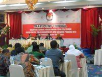 Rekapitulasi Perhitungan Suara Tingkat Provinsi Mulai Dilakukan