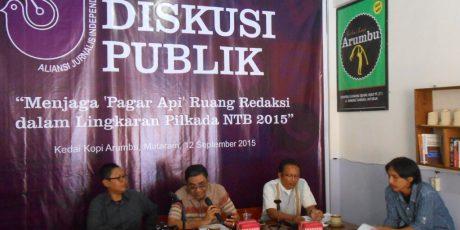 KPID NTB Minta Masyarakat Awasi Lembaga Penyiaran di Musim Pilkada