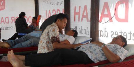 Dampak Corona, Pendonor Darah di UTD PMI Lobar Menurun Sampai 50 Persen