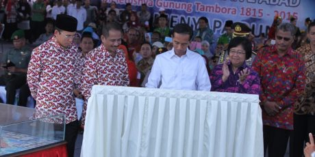 Presiden Instruksikan Event Tambora jadi Festival Tahunan