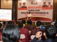 Penutupan Tanwir IMM, Gubernur Berpesan Agar Pemuda Perluas Wawasan