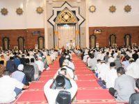 Shalat Idul Adha di Islamic Center Berlangsung Khidmat dengan Protokol Covid-19