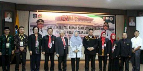 Optimis Akreditasi Internasional Untuk RSUD Provinsi NTB