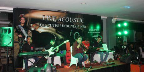 Santika Music Corner : Live Acoustic for Puteri Indonesia NTB 2016