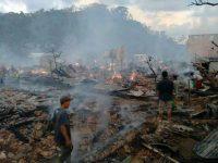 75 Rumah Hangus di Batu Rotok, Penanganan Darurat akan Dimaksimalkan
