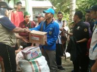 Pasca Banjir, KNPI NTB Masih Lakukan Pembersihan Lingkungan di Bima