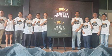 Gubernur NTB Launching Kompas Tambora Challenge 320K- 2020