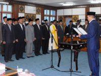 Gubernur Geser 28 Pejabat Eselon II, Empat Pejabat Masuk Kotak