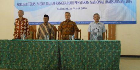Forum Literasi Media, KPI Ajak Masyarakat Kritisi Media Siaran