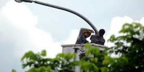 Tidak Diawasi Dengan Baik,  PJU di Kota Mataram Banyak Yang Padam