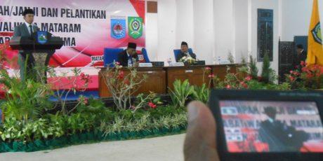 Gubernur Lantik Penjabat Kepala Daerah, Larang Keras PNS Ikut Politik Prakstis