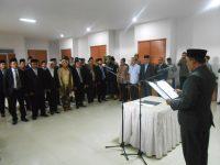 Panwaslu 7 Kabupaten Kota di NTB Dilantik,  Mereka Diminta Dalami  Aturan Pilkada