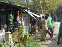 Pemkot Mataram Kembali Bongkar Lapak PKL Udayana