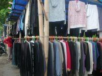 Lapak Untuk Pedagang Baju Bekas Belum Selesai Dikerjakan