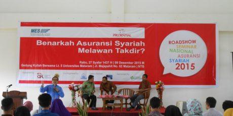 Edukasi Masyarakat Melalui Seminar Nasional Asuransi Syariah
