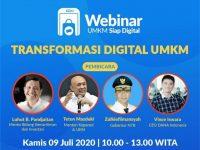 Webinar Nasional Tentang Transformasi Digital UMKM akan Digelar Besok, Pelaku Usaha Silahkan Gabung