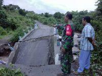 Curah Hujan Tinggi, Jembatan Menuju Pura Kebaloan Putus