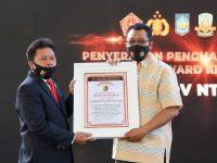 Karena Program Kampung Sehat, LEMKAPI Beri Penghargaan ke Pemprov NTB, Polda NTB, dan Korem 162/WB