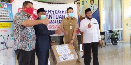 Sejumlah Rumah Sakit di NTB Dapat Bantuan APD dari DPR