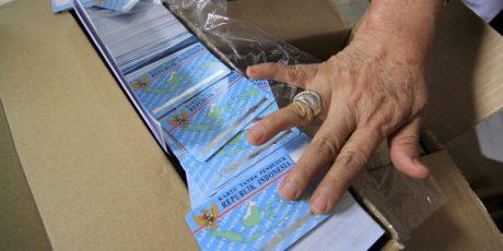 Dinas Dukcapil Kota Mataram Akhirnya Dapat 5.000 Keping Blangko