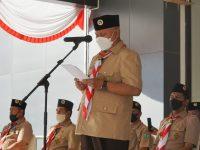 Anggota Pramuka Diminta Jadi Pelopor Penerapan Prokes Covid-19