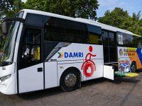 Alhamdulillah, NTB Kini Punya Bus Khusus Untuk Penyandang Disabilitas
