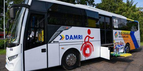 Bus Ramah Disabilitas NTB Dapat Apresiasi dari Kemenhub dan Kedubes Australia