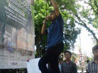 Masa Minta Polda NTB Telusuri Dugaan Penyimpangan Pembangunan Gedung Baru Kantor DPRD