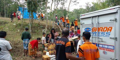 Diskon 50 Persen untuk Kiriman Donasi Gempa Lombok