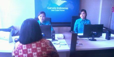 Garuda Perluas Pasar di Lombok, Buka Gerai di LCC dan Selong