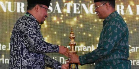 Dinilai Banyak Beri Kontribusi Bidang Dakwah, Gubernur NTB Raih IKADI Awards 2020