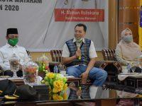 Gubernur Bertemu Walikota Mataram, Ini yang Dibahas