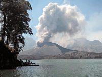 Erupsi Gunung Baru Jari, Tanaman Padi Diperkirakan Aman
