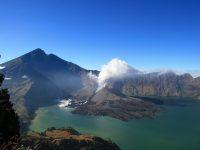 Letusan Gunung Baru Jari, Tidak Berdampak Ke Kota Mataram