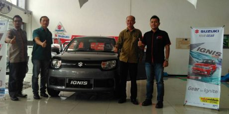 Suzuki Perkenalkan IGNIS di Lombok