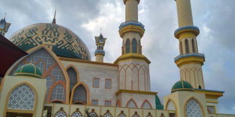 Kawasan Islamic Center Makin Dipercantik