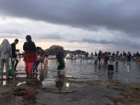 Perayaan Tahunan Bau Nyale, Ribuan Warga Lombok Turun Ke Pantai Seger