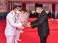 Selamat Bekerja, Enam Pasangan Bupati/Walikota di NTB Telah Dilantik