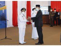 Bupati dan Wakil Bupati Sumbawa Dilantik, Gubernur Minta Tetap Fokus Pada Penanganan Pandemi