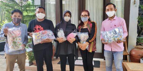 Puluhan Anak Terpapar Covid-19, LPA Bagikan Ribuan Masker Khusus Anak