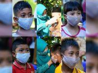 Cegah Covid-19, Fasilitas Kesehatan Mulai Terima Masker Khusus Anak