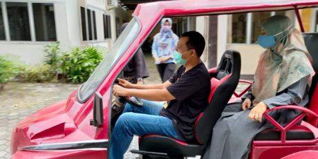 Mantap, Mobil Listrik Buatan NTB Terus Disempurnakan