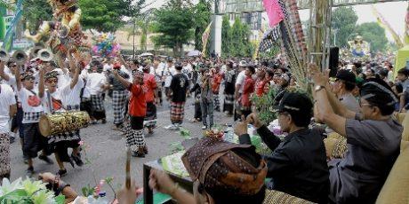 120 Ogoh-Ogoh Meriahkan Perayaan Nyepi Umat Hindu Mataram